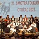 21. Smotra folklora Otočac - ocijenjena nadasve uspješnom