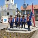 Mimohod 20 povijesnih postrojbi hrvatske vojske u Gospiću
