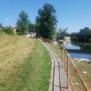 Košnje uz rijeku Novčicu