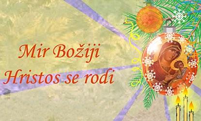 pravoslavni božić čestitke Čestitke za pravoslavni Božić, GlasGacke.hr pravoslavni božić čestitke