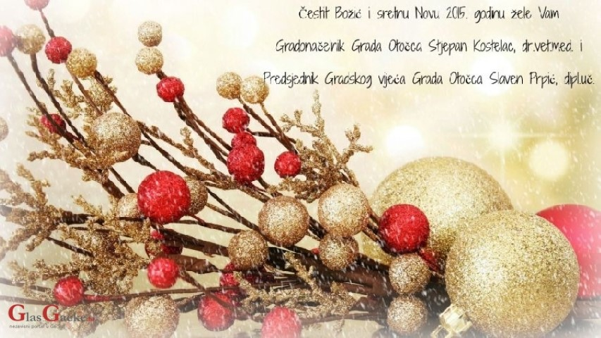 božićne čestitke na hrvatskom Božićne čestitke dijelimo s vama !, GlasGacke.hr božićne čestitke na hrvatskom