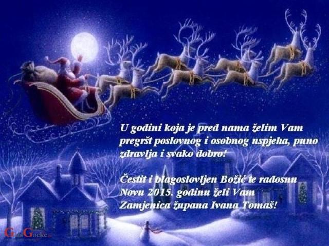 božićne želje i čestitke Božićne čestitke dijelimo s vama !, GlasGacke.hr božićne želje i čestitke