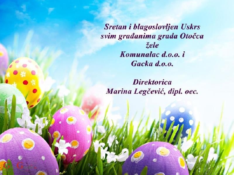 sretan uskrs cestitke Uskrsne čestitke !, GlasGacke.hr sretan uskrs cestitke